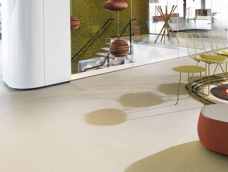 Designové lité podlahy