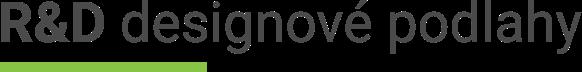 R&D designové podlahy logo