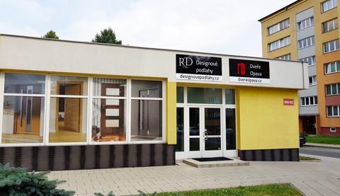 Vzorková prodejna litých podlah v Opavě