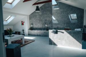 Showroom litých podlah v ostravě